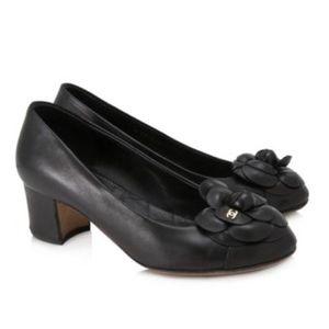 Chanel Lambskin Pumps in Black Chanel Shoes